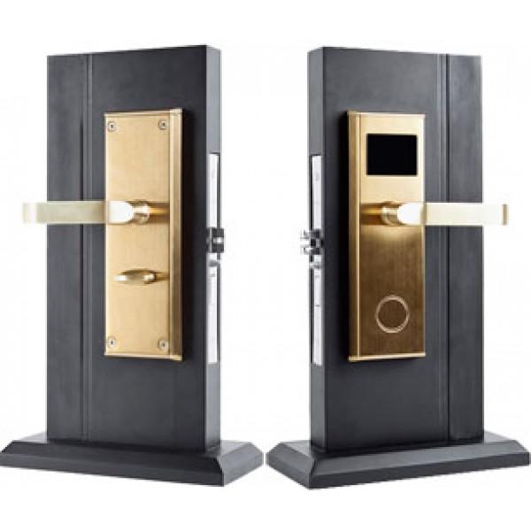 Электронный гостиничный бесконтактный замок Z-7 цвет золото