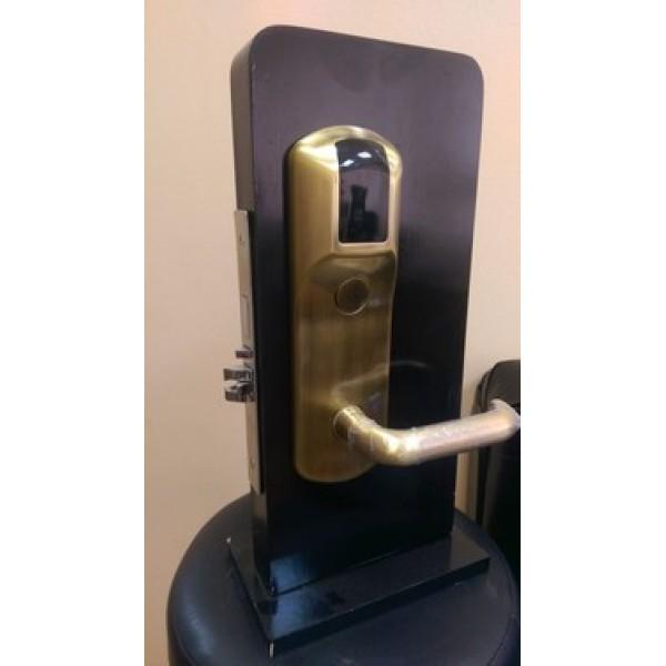 Электронный гостиничный бесконтактный замок Z-8 цвет - золото