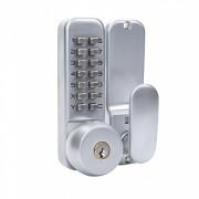 Механический кодовый замок, врезного типа с ключами, Selock Code 37B