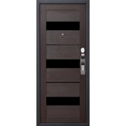 Входная дверь с электронным замком Samsung SHS-P718XBK  - EU-718 CUPRESS/MOCCO