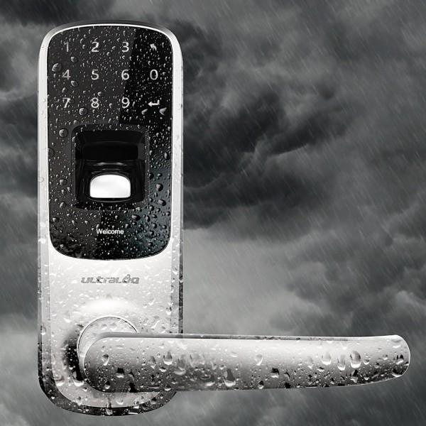 Биометрический дверной замок с кодовой сенсорной панелью UltraLog-UL3