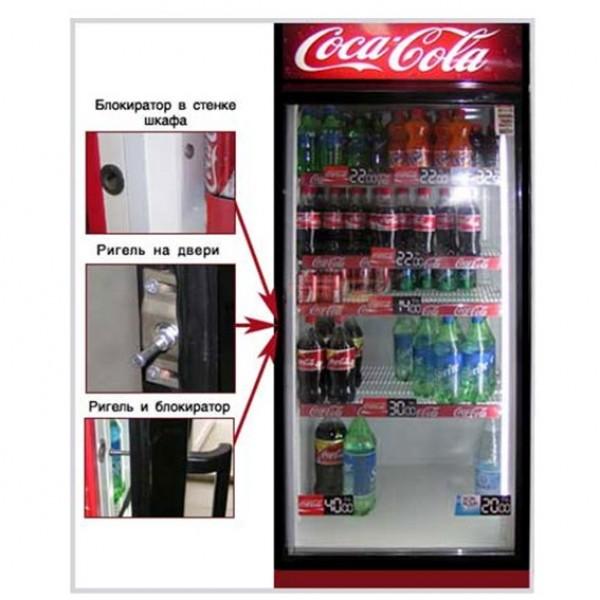 FRIZ-KP-1 (IN-ON) Электромеханический встраиваемый замок  для распашных одностоворчатых дверей холодильника