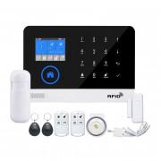 Беспроводная WiFi + GSM сигнализация E-Robot Lite (управление SIM картой и сетью Интернет)