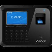 Биометрический терминал для систем контроля доступа и учета рабочего времени по отпечатку пальцев и картам Anviz С5