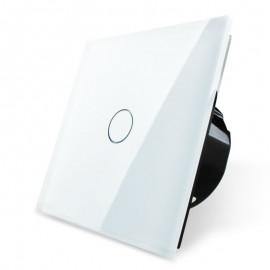 Сенсорный выключатель с таймером однолинейный серии Classic EC-1T-W (белый)