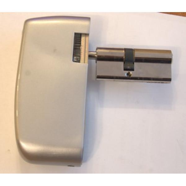 Электронный моторизированный цилиндр для замка с открытием по коду и картами Motor-Code-Lock-TTL, с удаленной сменой пароля