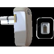 Электронный моторизированный цилиндр для замка с биометрическим считывателем Motor-Bio-Lock