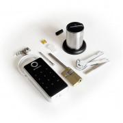 Электронный моторизированный цилиндр для замка с открытием по коду, картами и биометрией Motor-BioCode-Lock-TTL, с удаленной сменой пароля