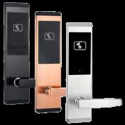 Бесконтактный замок HL-F16 для гостиниц на RFID картах (черный, бронза, серебро)