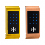 Электронный замок для шкафчика BOX-O3-GLX ( открытие при помощи кода и карт)