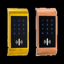 Электронный замок для шкафчика SL-F03/C/EM/P ( открытие при помощи кода и карт)