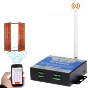 Комплект SKUD-19, электромагнитный замок с GSM с управлением через смартфон или телефон