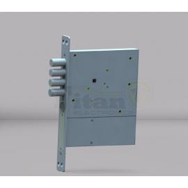 Врезной скрытый электронный замок невидимка Титан-Battery Pro Моноблок