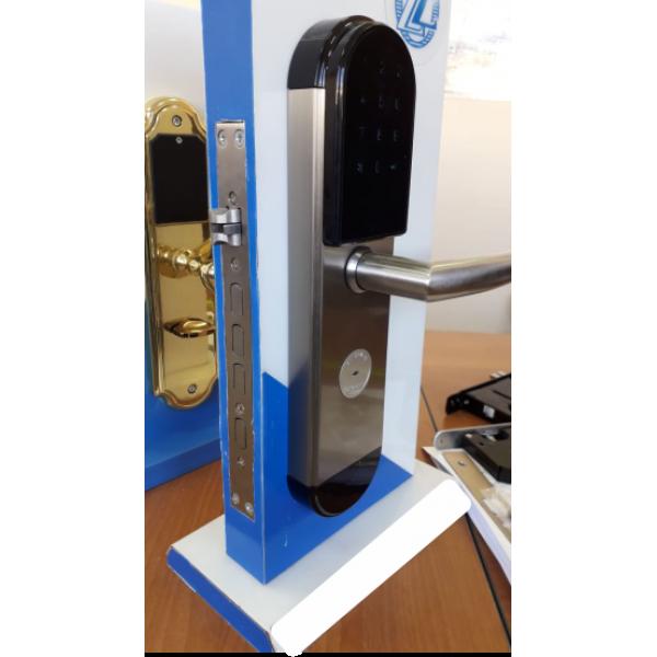 Входной электронный смарт замок Visit-Lock -TTL 34 с возможностью удаленной смены паролей (цвет бронза)