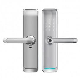 Входной электронный биометрический замок Visit-Lock-TTL 710 (silver) с возможностью удаленного открытия и смены паролей