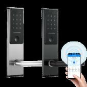 Входной электронный смарт замок Visit-Lock -TTL 32 с возможностью удаленной смены паролей (цвет черный)